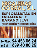 Escaleras Corral